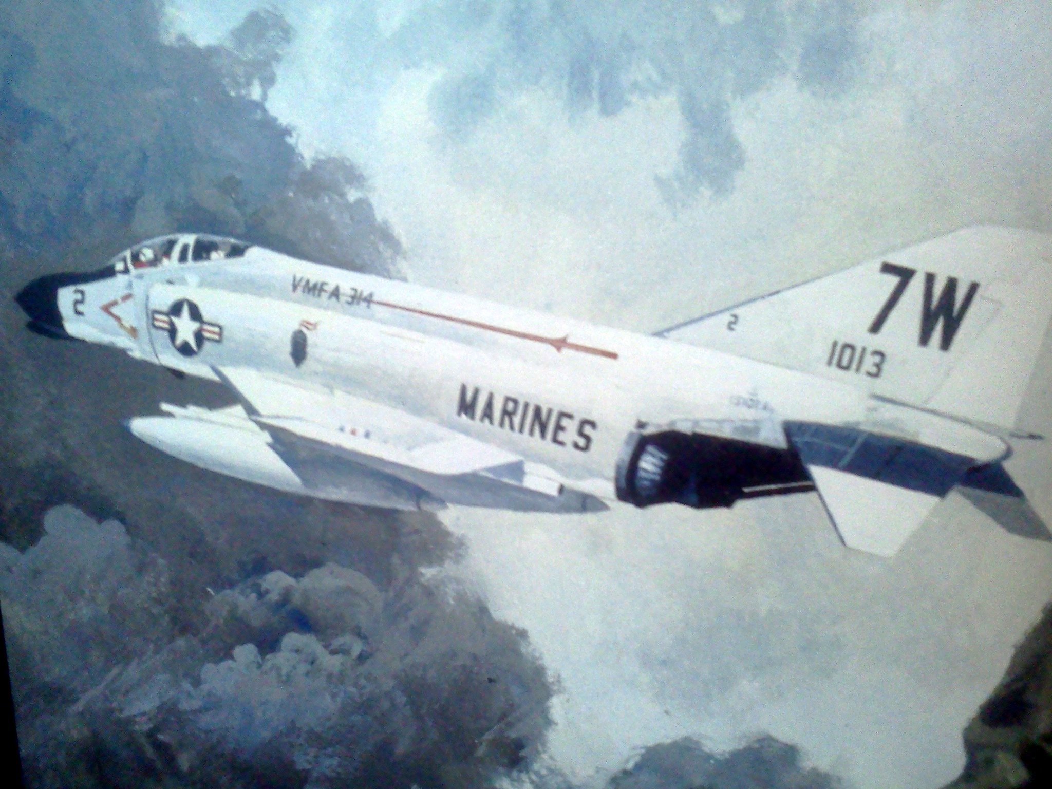 mission phantom 1970